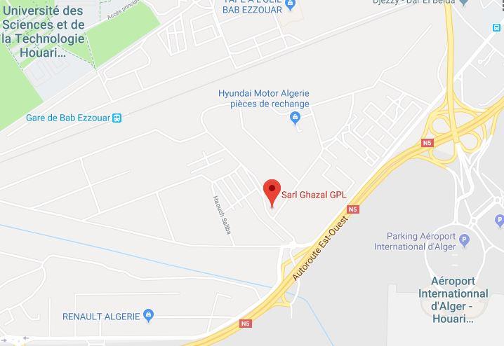 Carte Algerie Autoroute Est Ouest.Ghazal Gpl Centres De Convention Ghazal